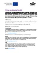 Stödlista (vuxna och personal)